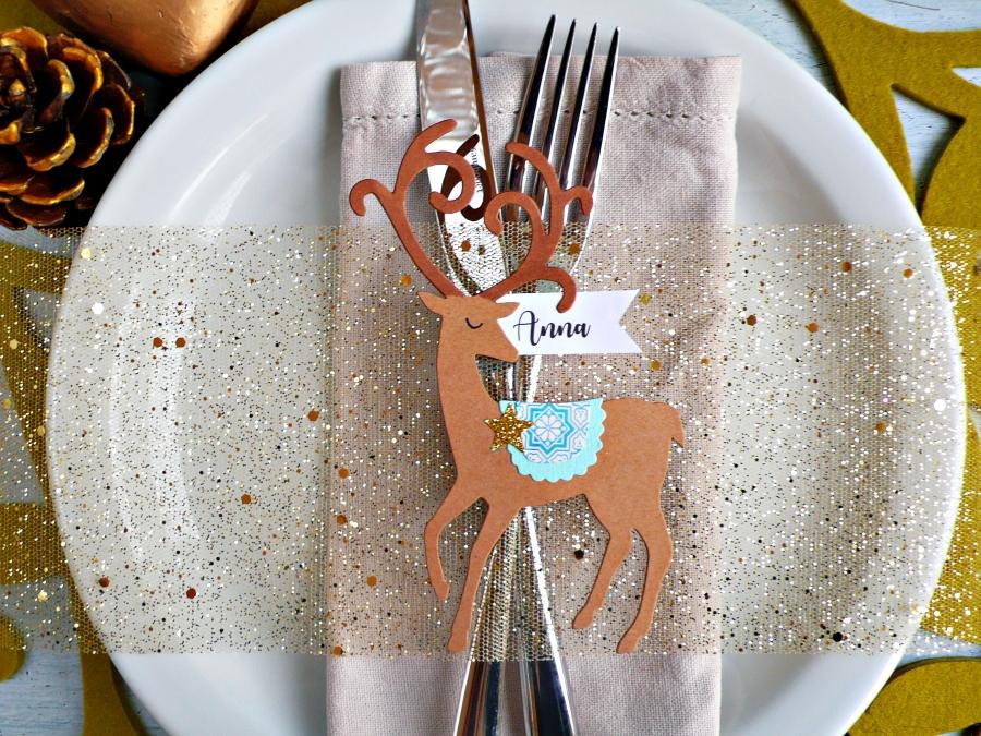 DIY Graceful Reindeer Place Cards