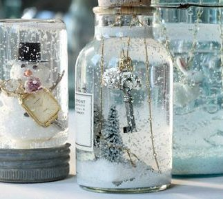 Make Your Own Snow Globes!