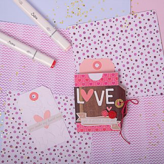 Mini Album for Valentine's Day