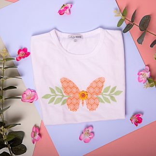 DIY Butterfly T-Shirt for girl - VIDEO