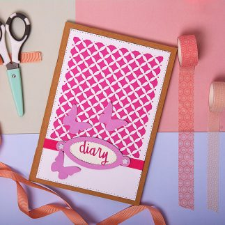 Easy DIY Girly diary (VIDEO)