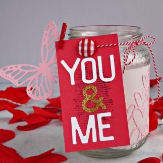 DIY Tea-Light Holder for Valentine's Day - VIDEO
