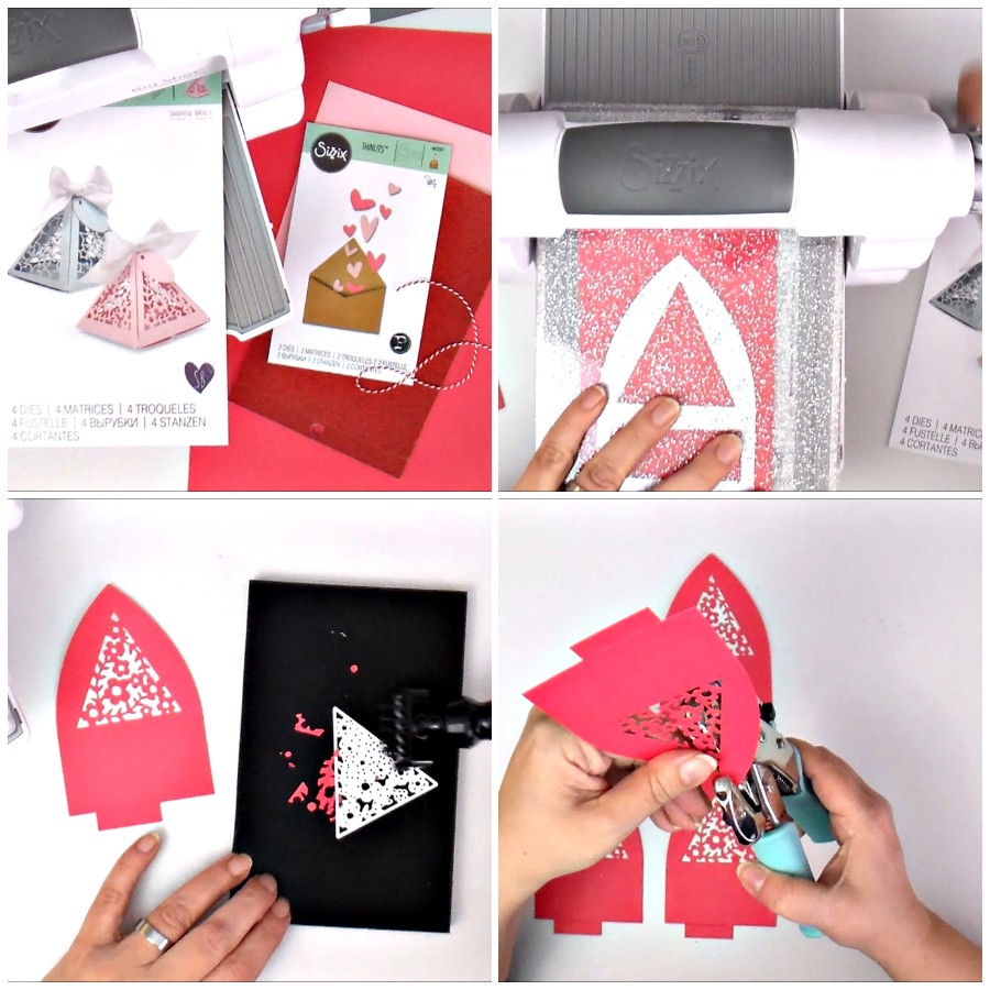 Triangle Gift Box for Valentine's Day