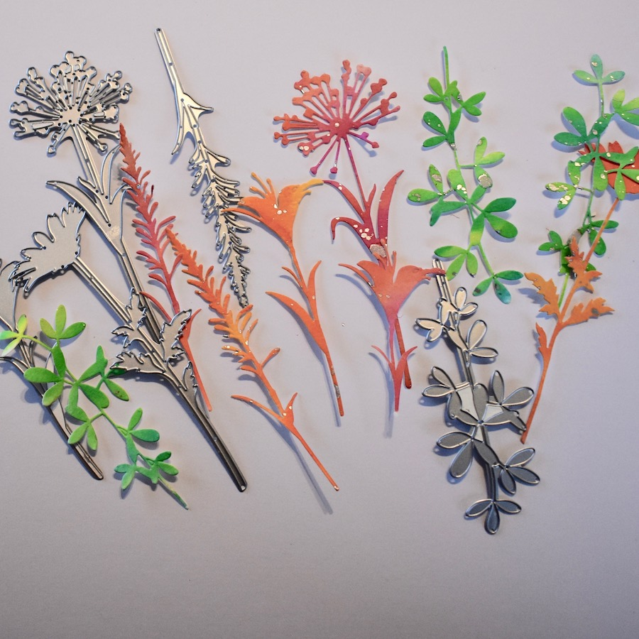 Clean and Simple Watercolour Flowers