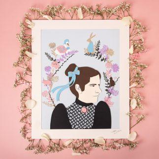 Beatrix Potter Papercut - Hannah Read Baldrey