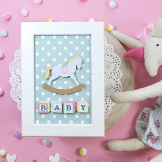 Baby decorative frame