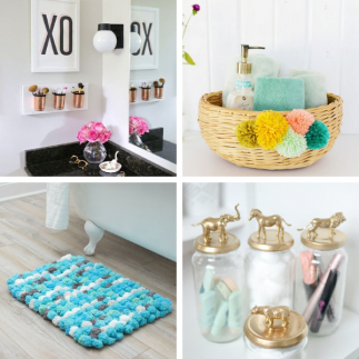 DIY Bathroom Décor