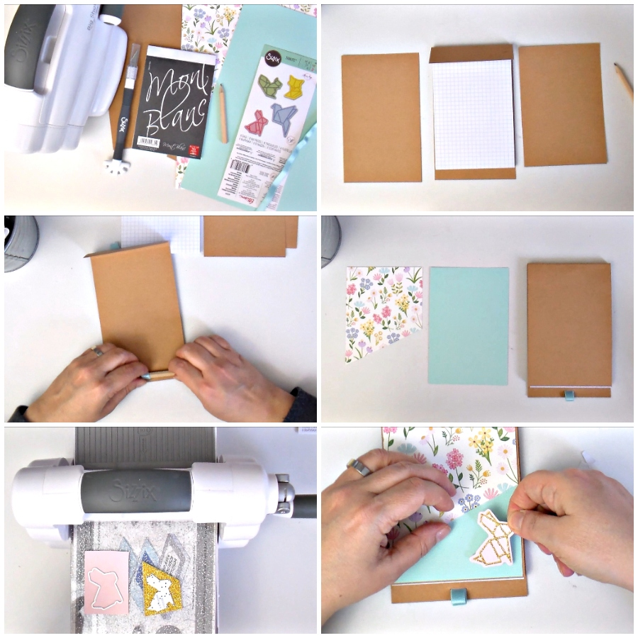 DIY Notepad Cover - VIDEO