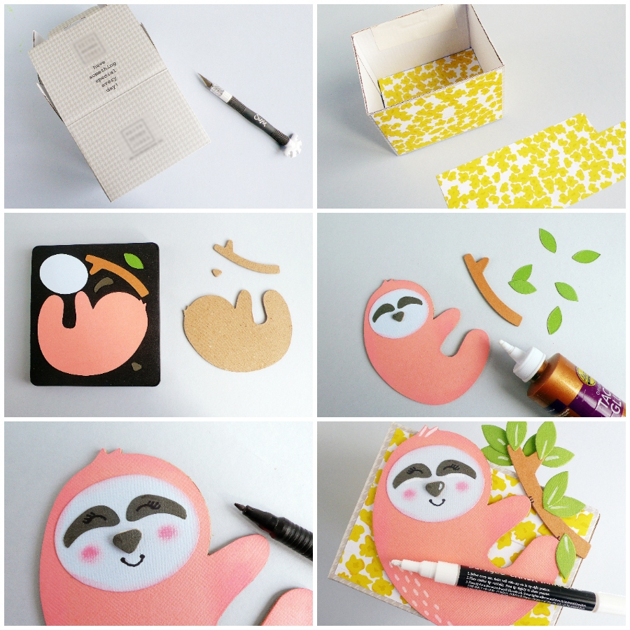 DIY Sloth Party Themed