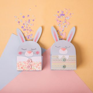 Bunny Favor boxes - VIDEO