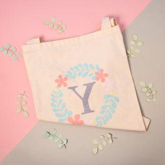 upcyled floral bag