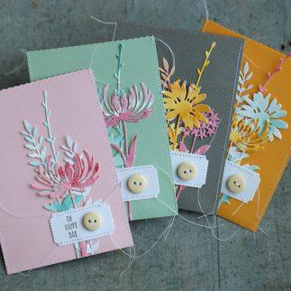 Julia´s flower treat bags
