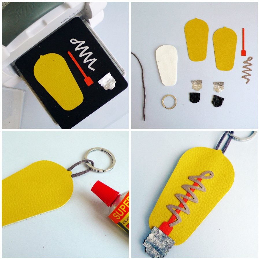 DIY Light Bulb Keychain