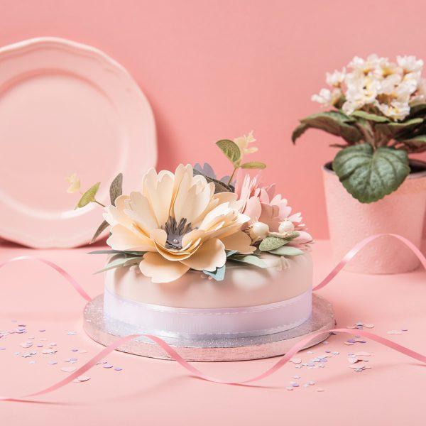 Peony wedding cake- vlog