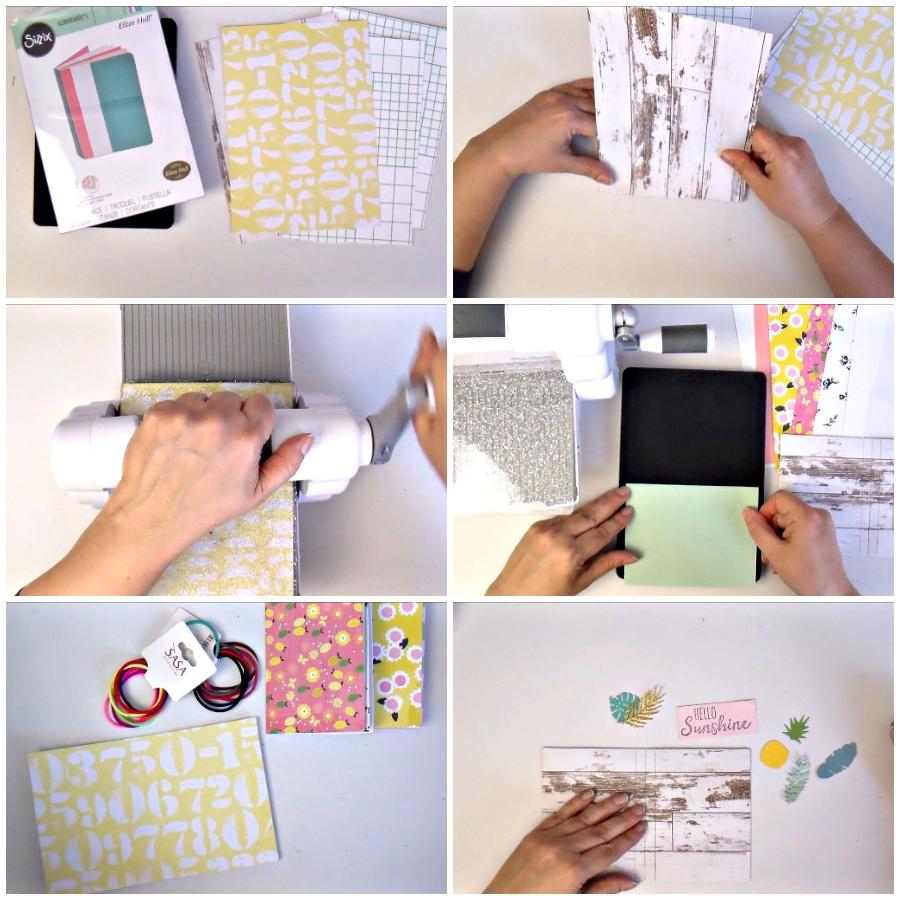 DIY Mini Midori Style Traveler's Notebook - VIDEO