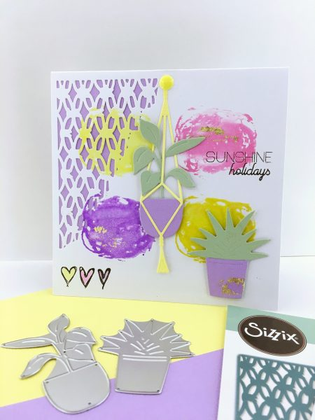 Watercoloring Card by Isa Scrap & Créations
