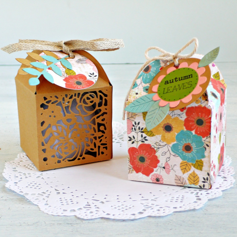 DIY Autumn Favor Boxes
