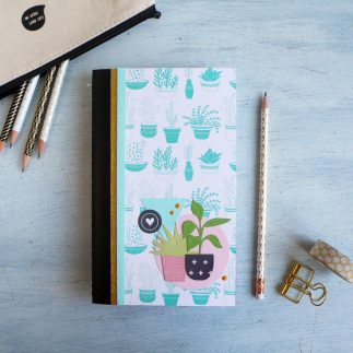 DIY Hanging Planter Notebook