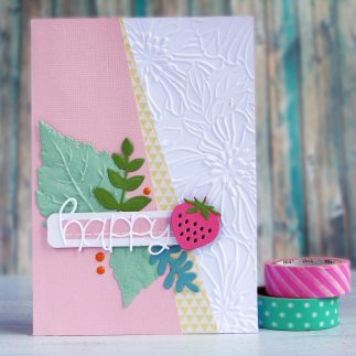 DIY Summer Fruit Card - VIDEO