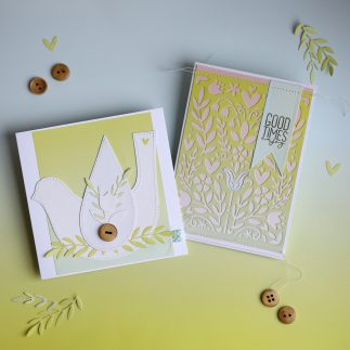 Summer Folk Art Cards