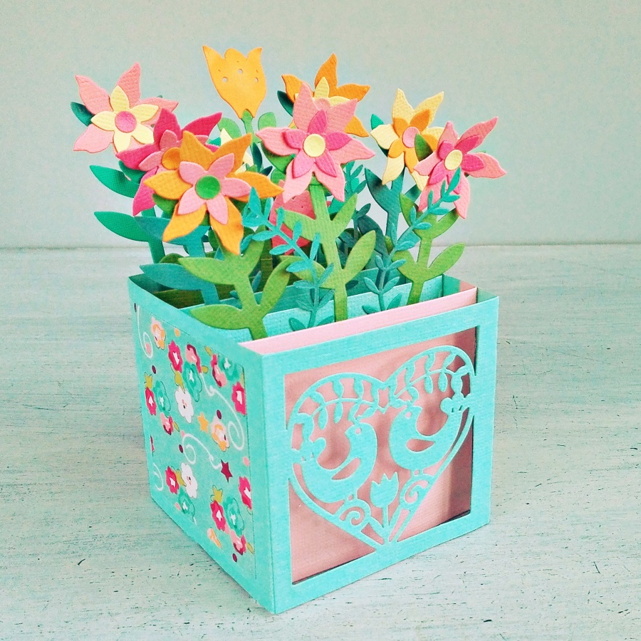 How To Make a Card in a Box - video