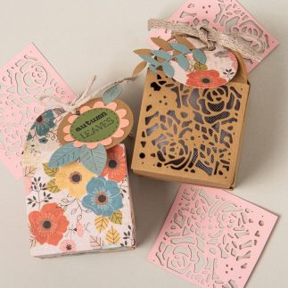 DIY Autumn Favor Boxes - VIDEO