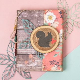 DIY Autumn Mini album | Scrapbooking - VIDEO