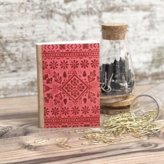Handmade Seasonal Mini Notebook