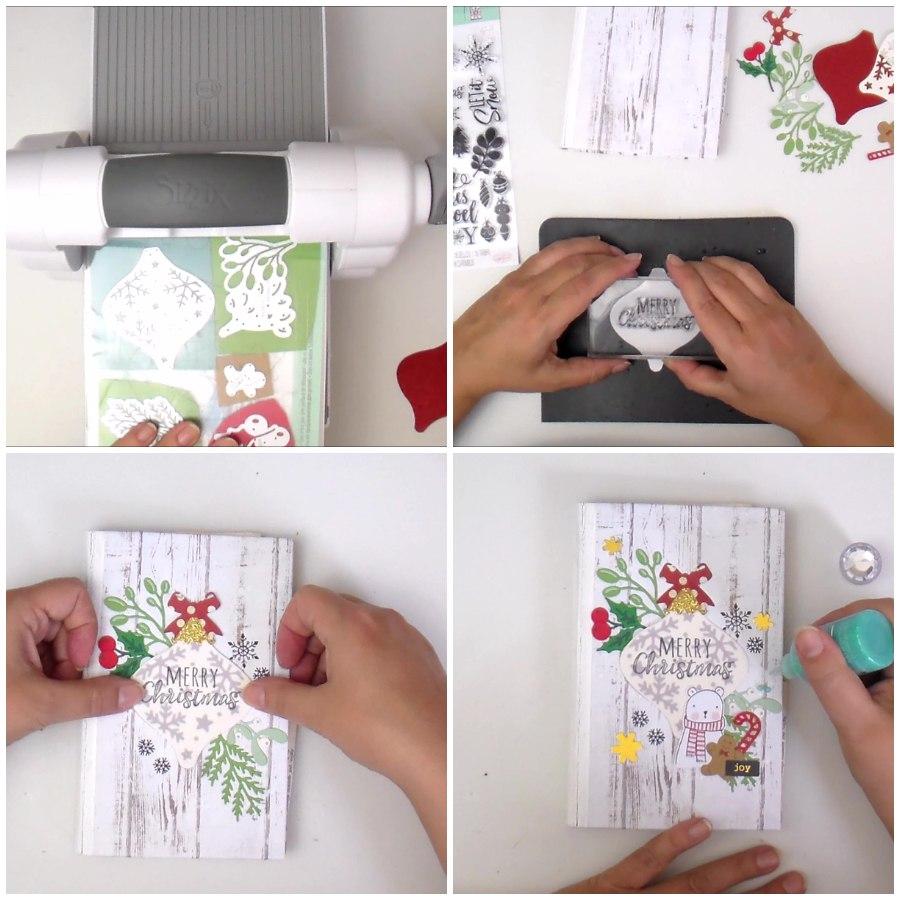 Christmas Altered Book Mini Album - VIDEO