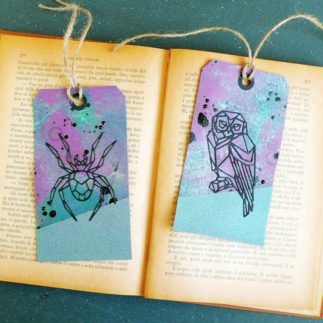 DIY Halloween Tags using Tim Holtz Die set - VIDEO
