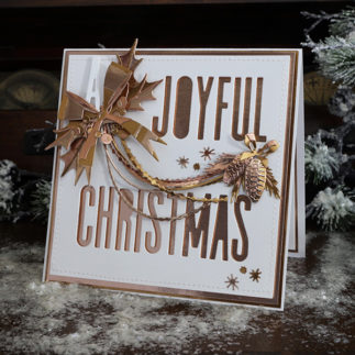 A Joyful Christmas Card by Jan Hobbins