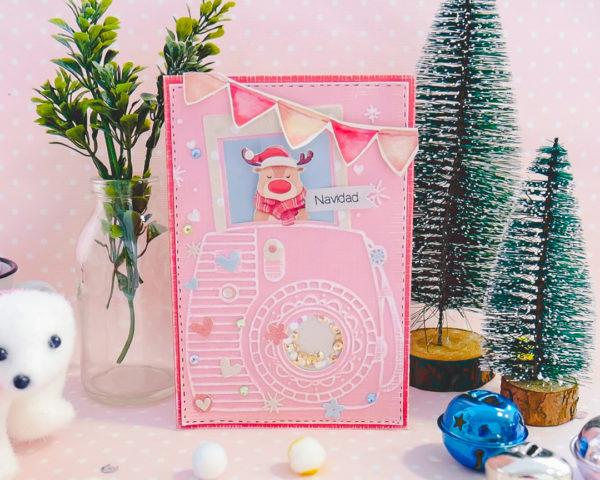 Lovely Christmas card idea. (VIDEO)