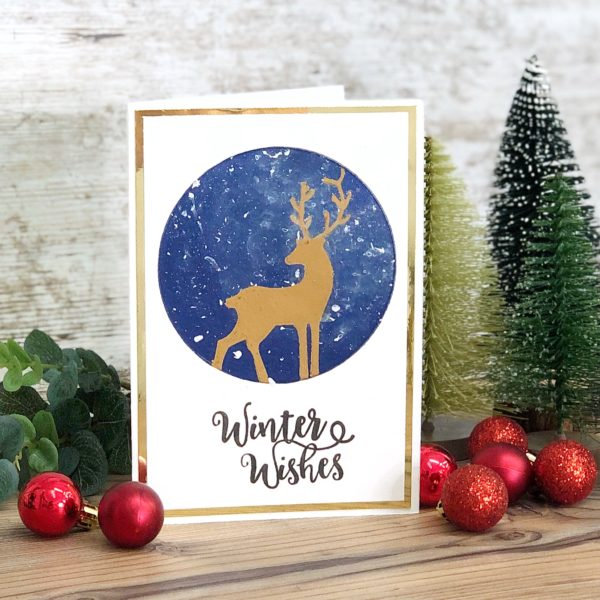 Winter Wishes Christmas Card (VIDEO)