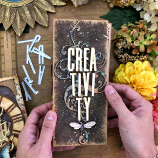 Creativity Mixed Media Album (Video