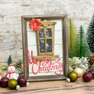 Christmas Window frame