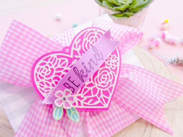 Decorated envelope for your cards