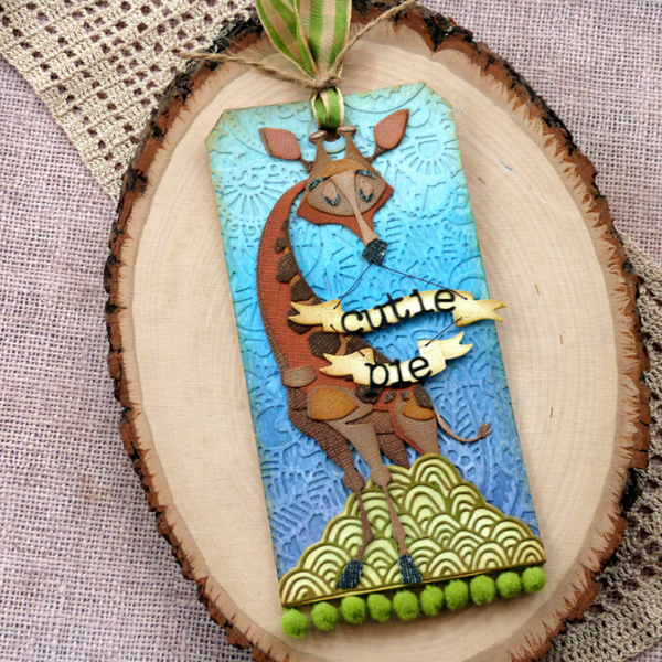 Gertrude Cutie Pie Tag by Audrey Pettit