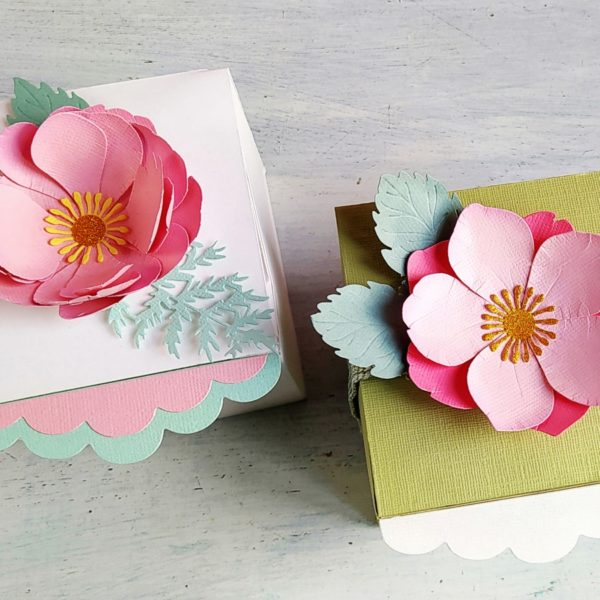 DIY - Gift Box with Flower - VIDEO