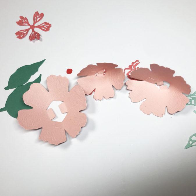 floral die set