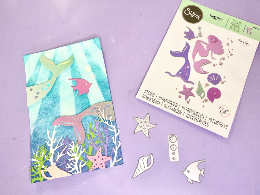 mermaid card collection