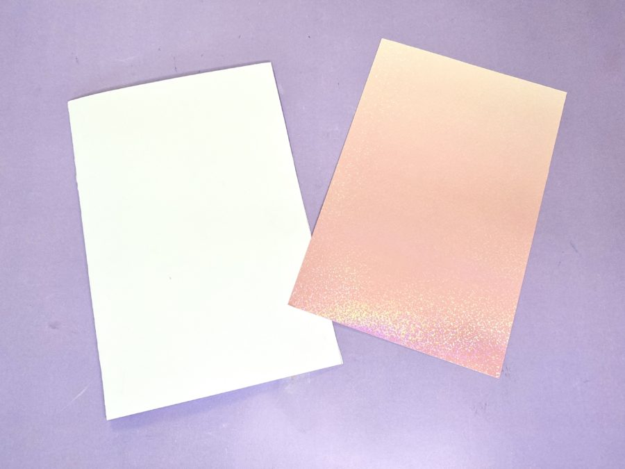 mystical holographic cardstock
