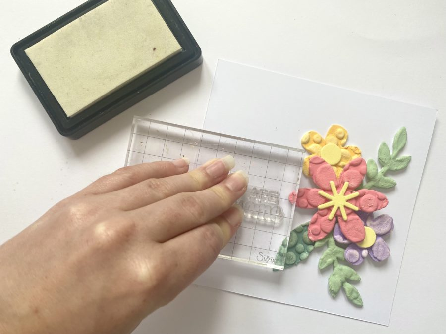 sizzix stamps