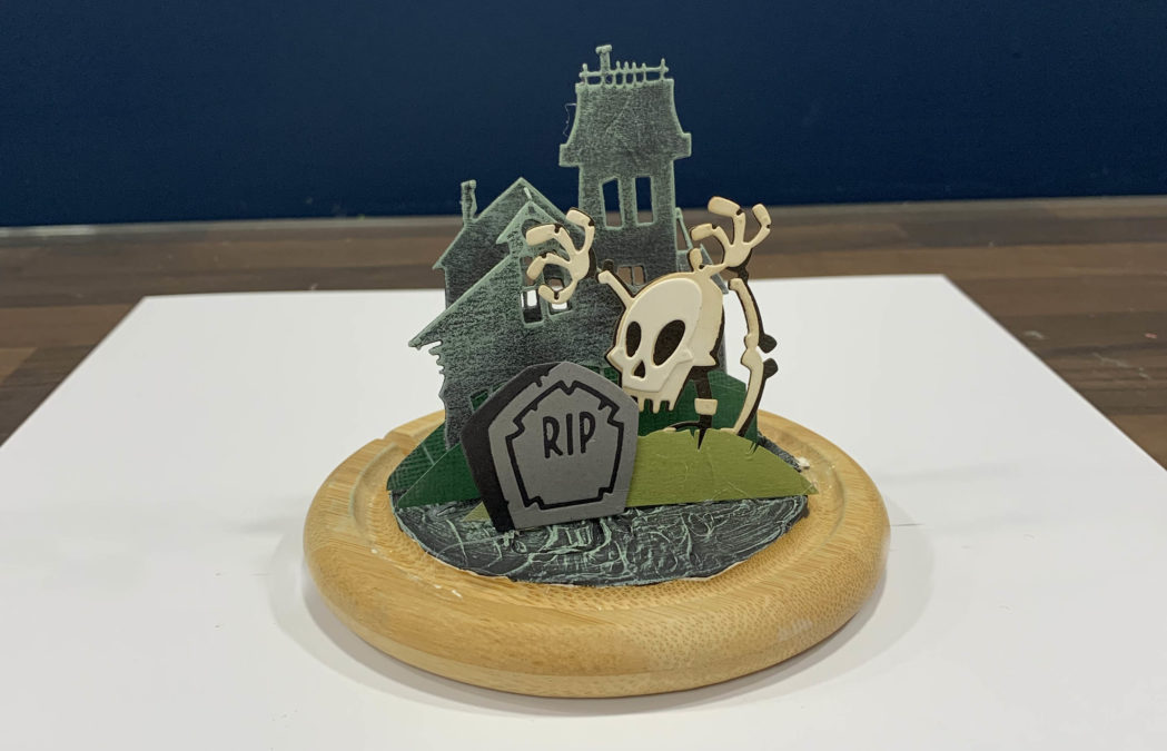 Mr. Bones Halloween Dome Jar