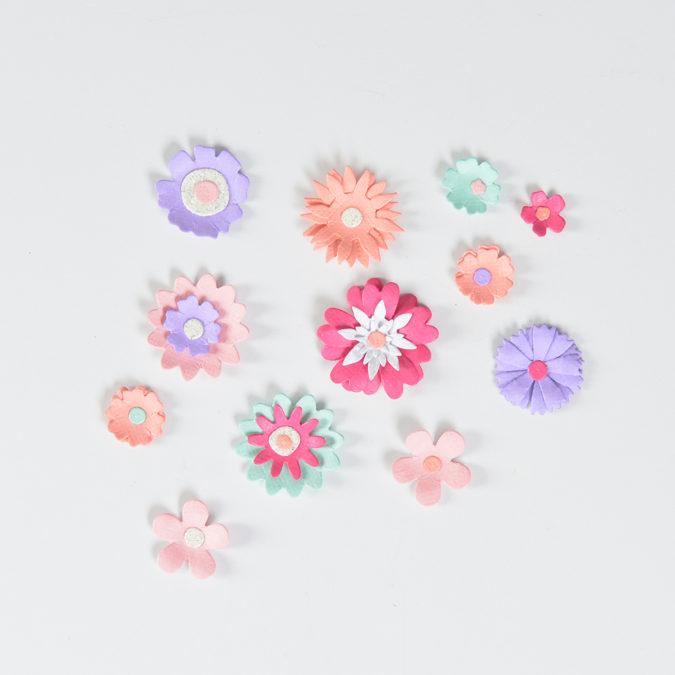 Complete Sizzix Flower Elements