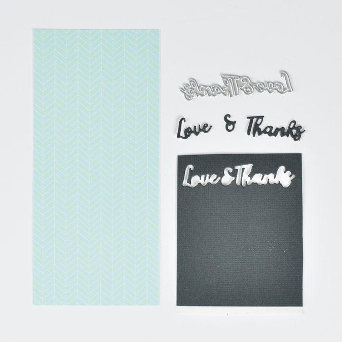 Love & Thanks Die Set