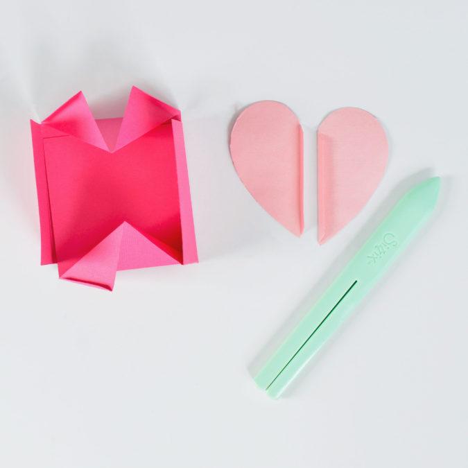 Step 6 - Folding the Heart Box