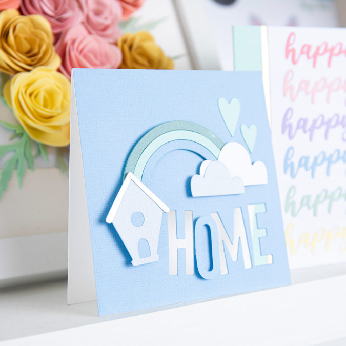 Home Cardmaking Inspiration by Sizzix